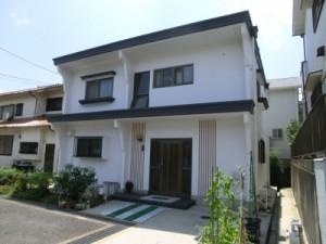 大阪氏旭区T様邸(外壁塗装・カラープランニングの施工事例)