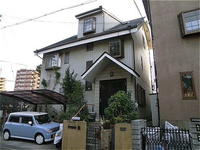泉大津市T様邸(外壁塗装・カラープランニングの施工事例)