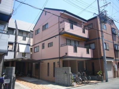 大阪市都島区S様邸(外壁塗装・カラープランニングの施工事例)