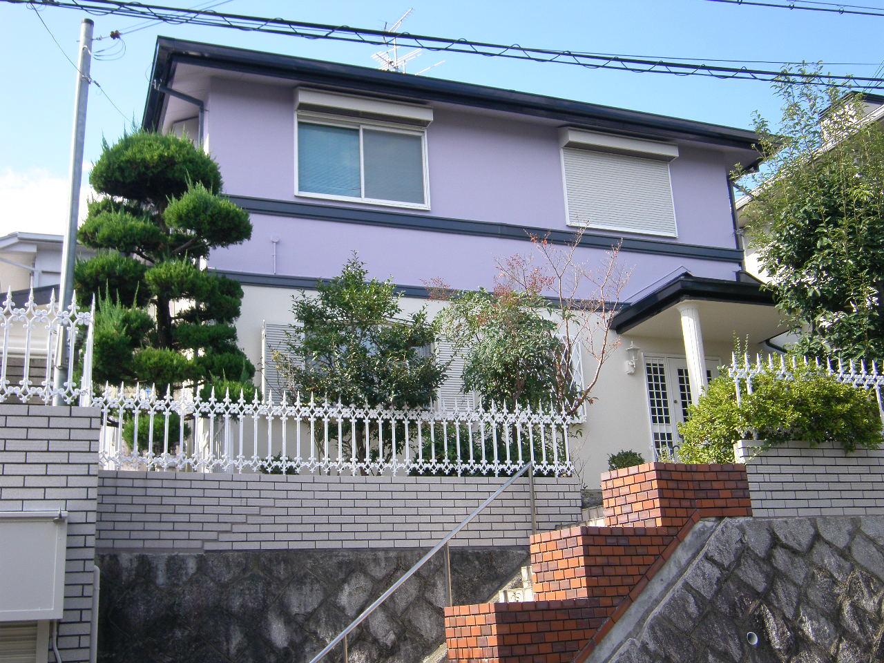 高槻市 Y様邸(外壁塗装・カラープランニングの施工事例)