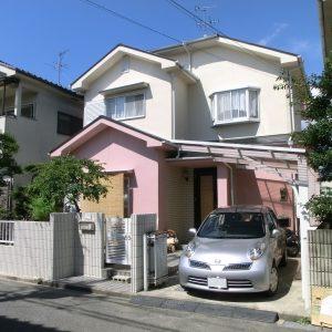 奈良市 M様邸(外壁塗装・カラープランニングの施工事例)
