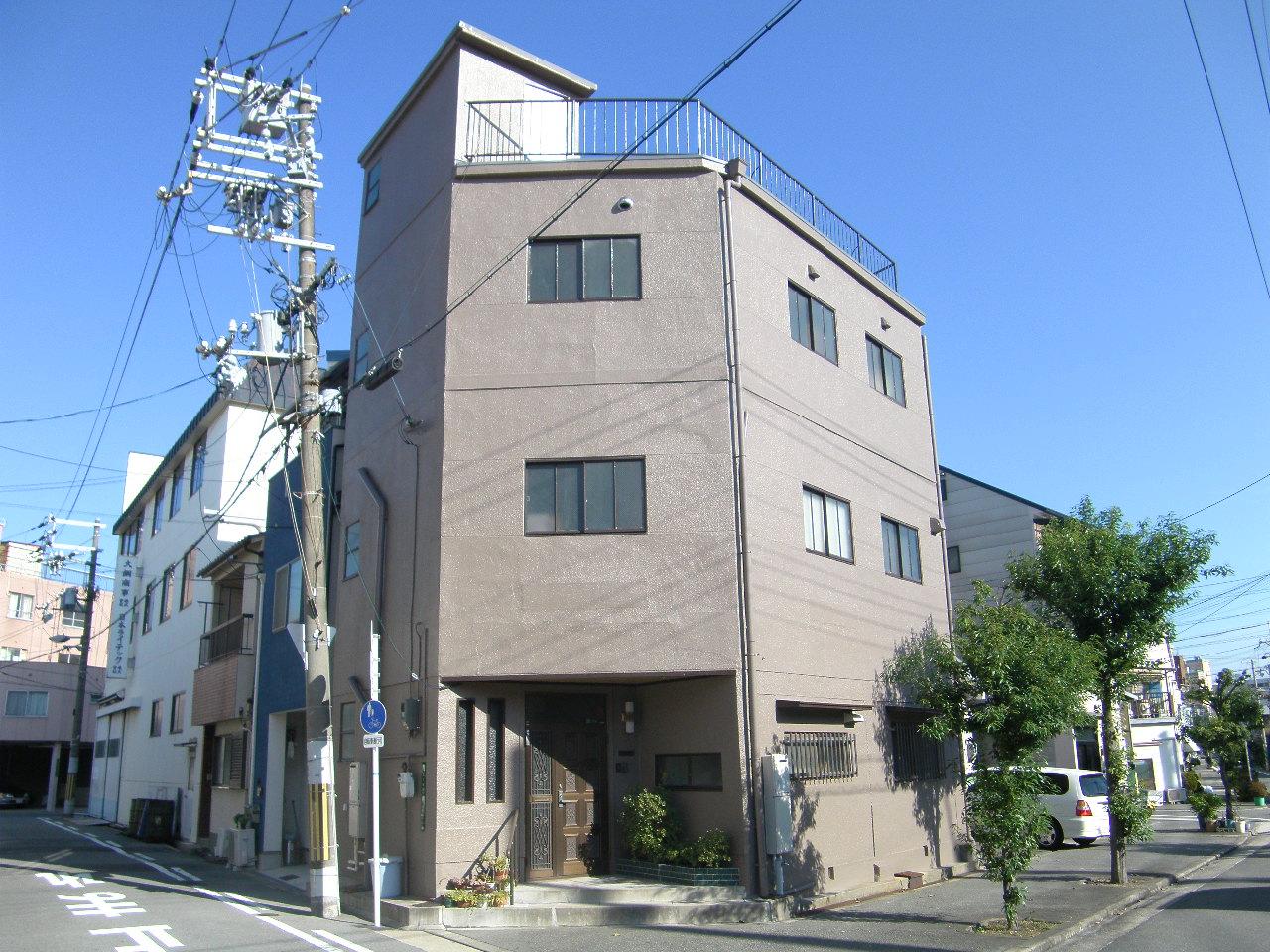西成区 N様邸(外壁塗装・カラープランニングの施工事例)