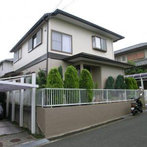 茨木市S様邸(外壁塗装・カラープランニングの施工事例)