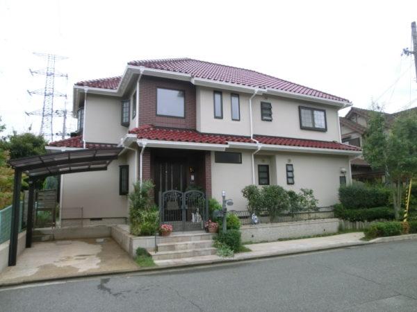 生駒市 外壁塗装 施工例(N様邸)