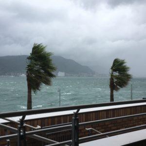 工事中の皆様へ 台風対応について