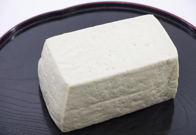 木綿豆腐とアマニ油