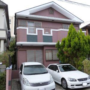 茨木市 外壁塗装 施工例(A様邸)