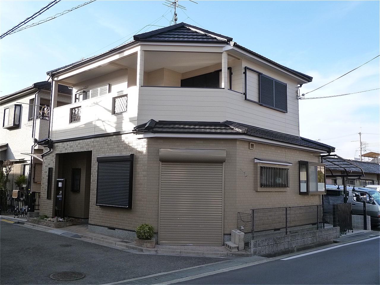 奈良市 外壁塗装 施工例(U様邸)