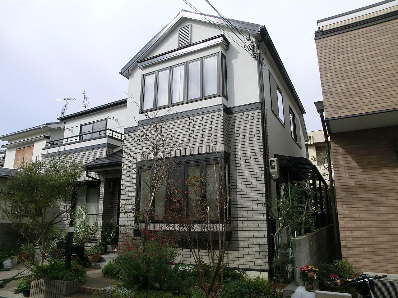 箕面市 外壁塗装 施工例(H様邸)
