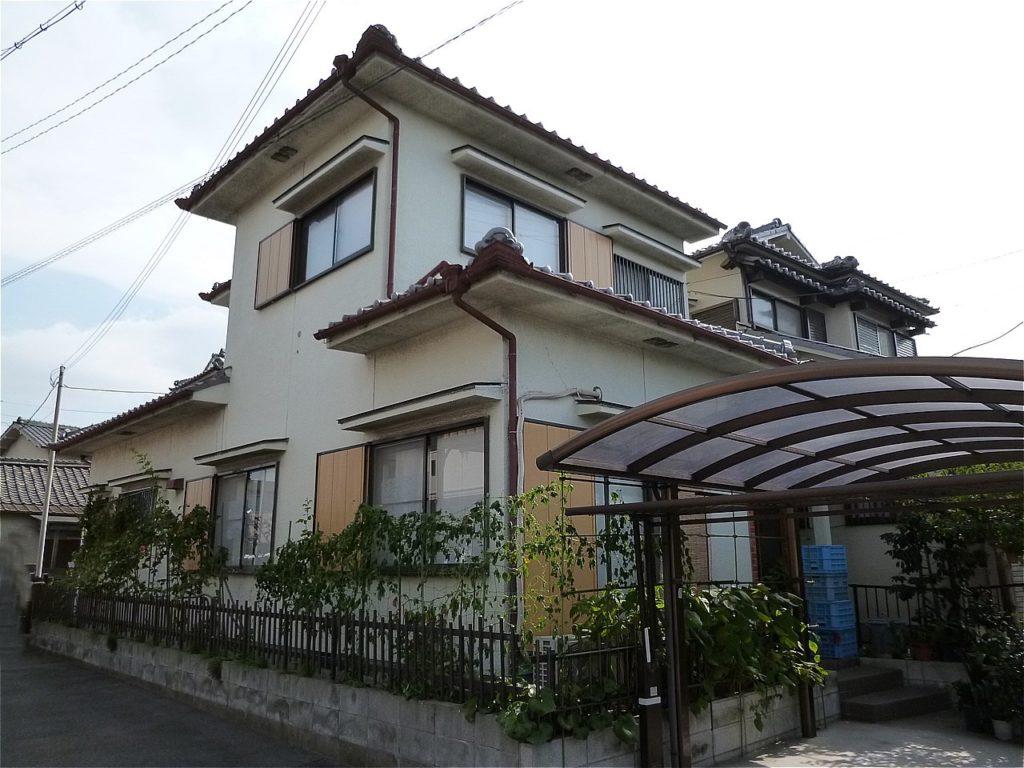 岸和田市 外壁塗装 施工例【 O様邸 】