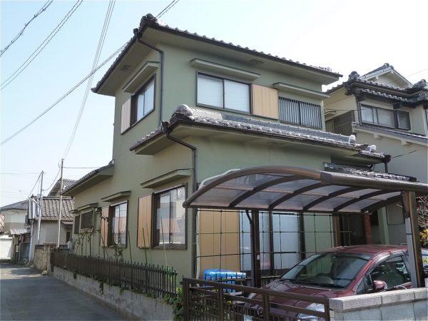 岸和田市 外壁塗装 施工例( O様邸 )