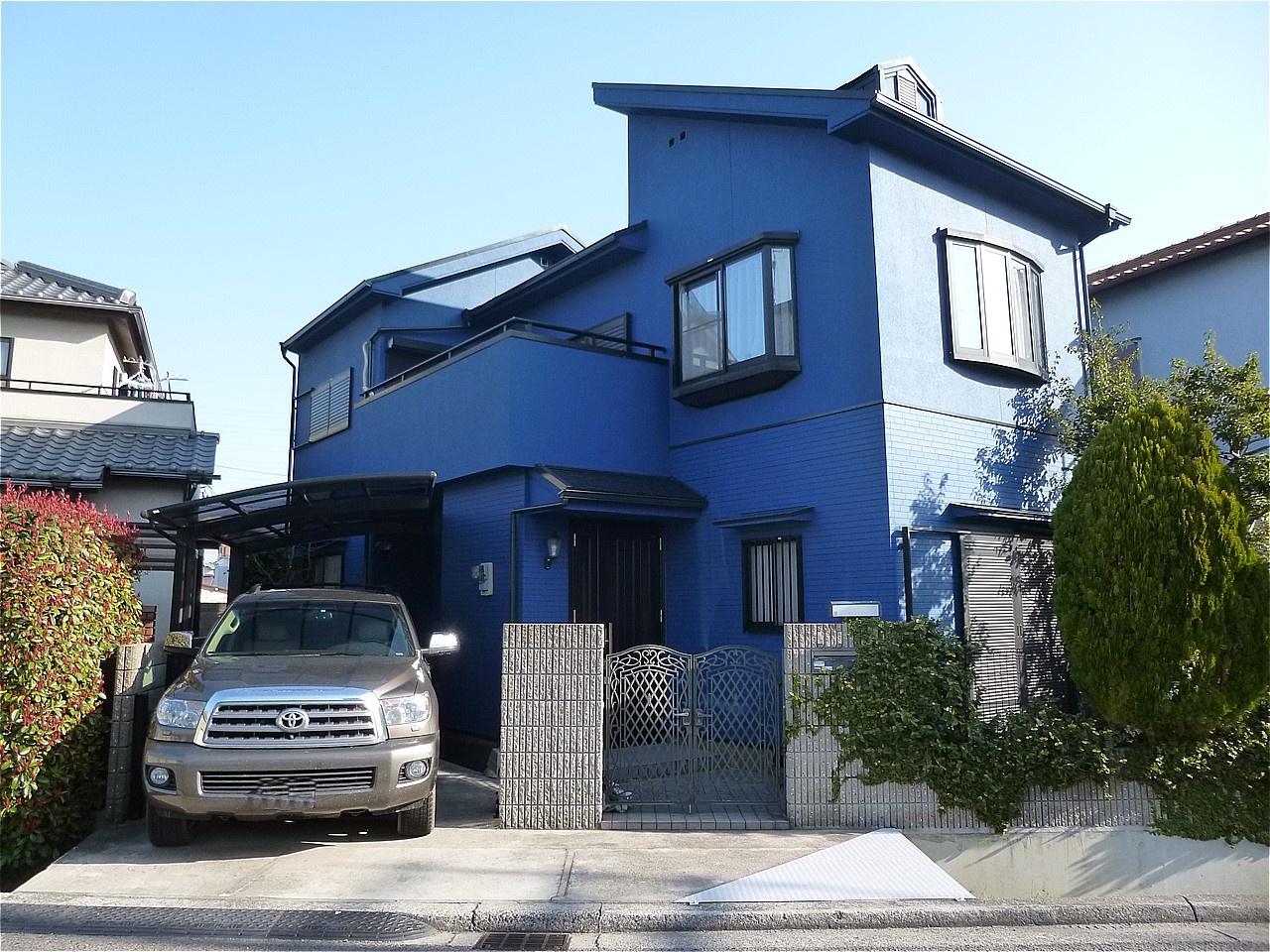 堺市堺区 外壁塗装 施工例(S様邸)