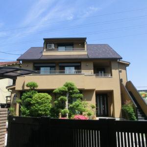 堺市北区 外壁塗装 施工例(D様邸)