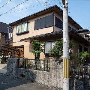 奈良市 外壁塗装 施工例(N様邸)