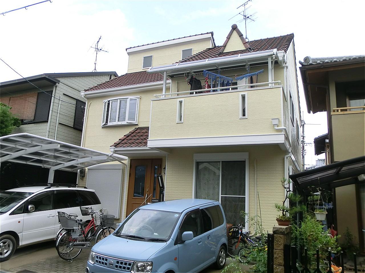 藤井寺市 外壁塗装 施工例(K様邸)