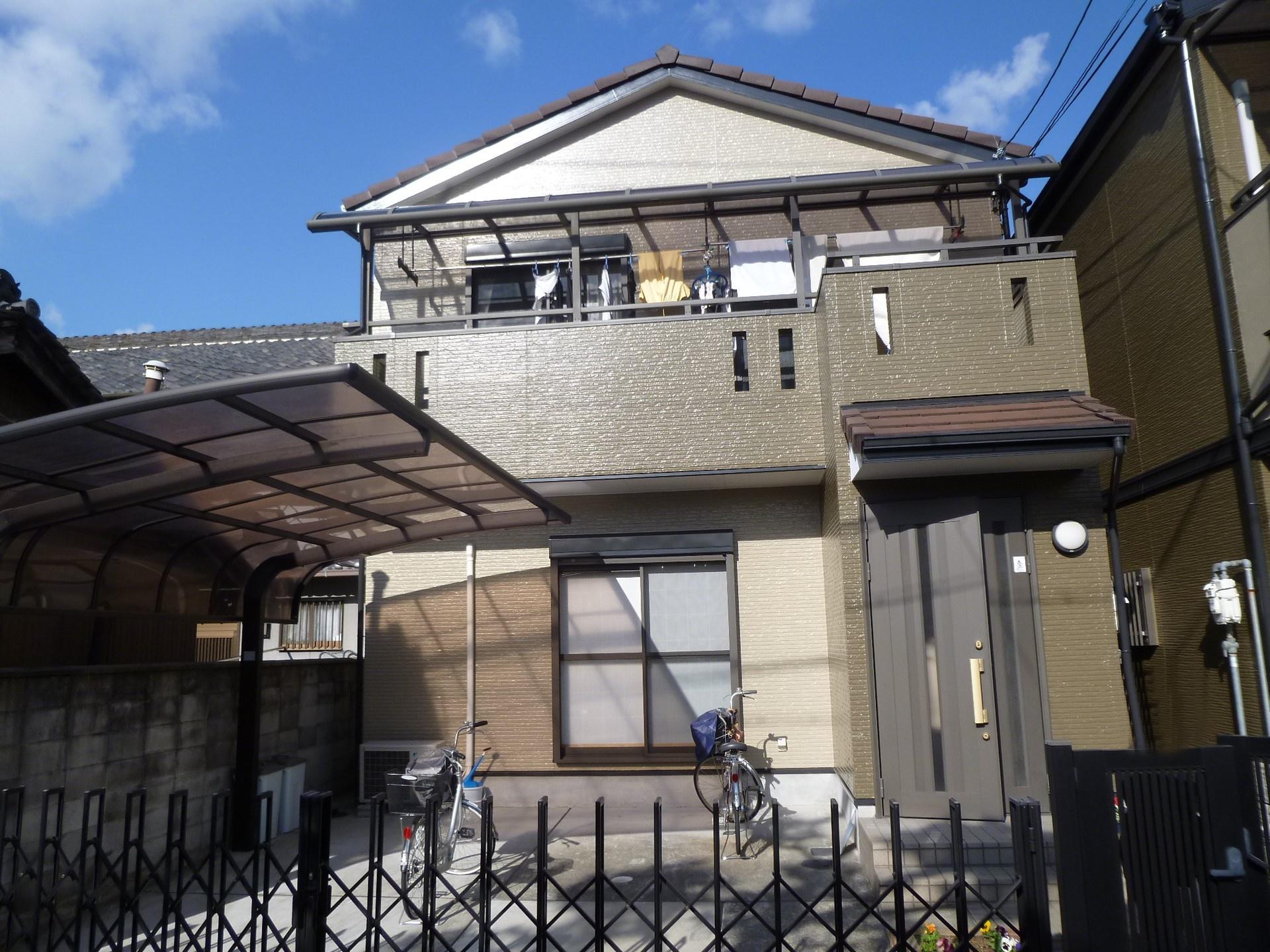 藤井寺市 外壁塗装 施工例(T様邸)