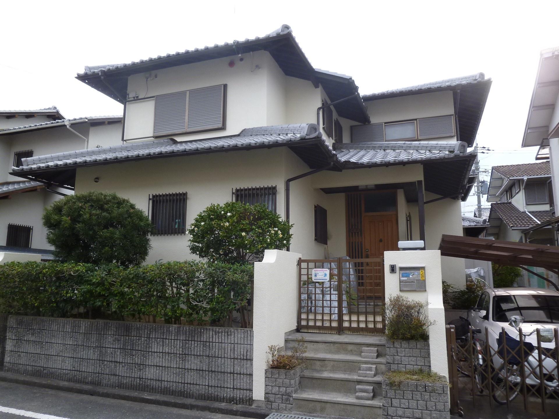 茨木市 外壁塗装 施工例(K様邸)