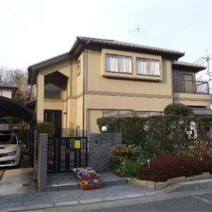 奈良市 外壁塗装 施工例(O様邸)