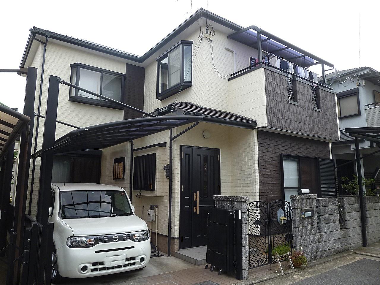堺市東区 外壁塗装 施工例(H様邸)