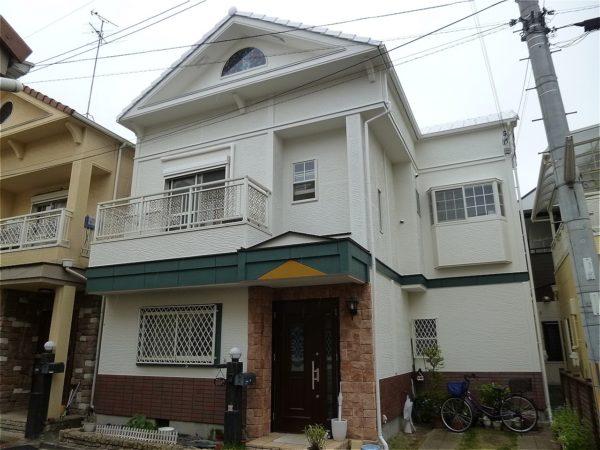 東大阪市 外壁塗装 施工例(D様邸)