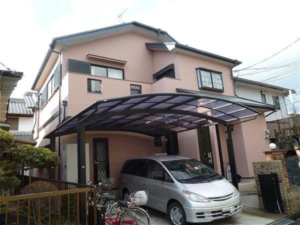 奈良市 外壁塗装 施工例(Y様邸)