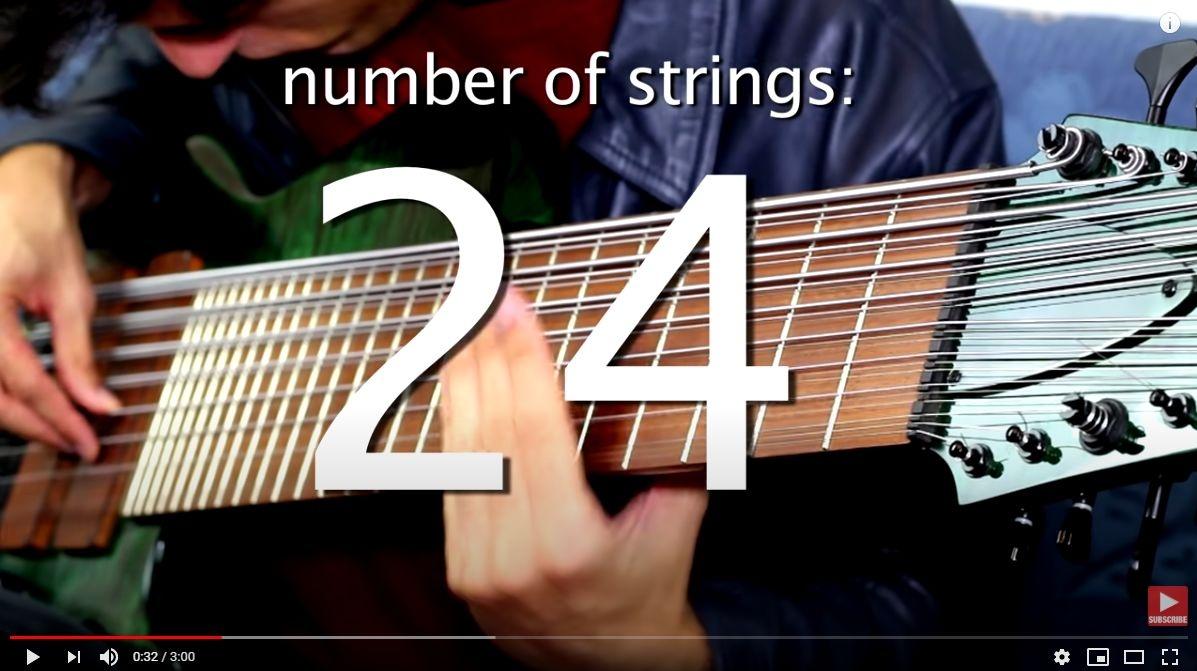 24弦ベース😲