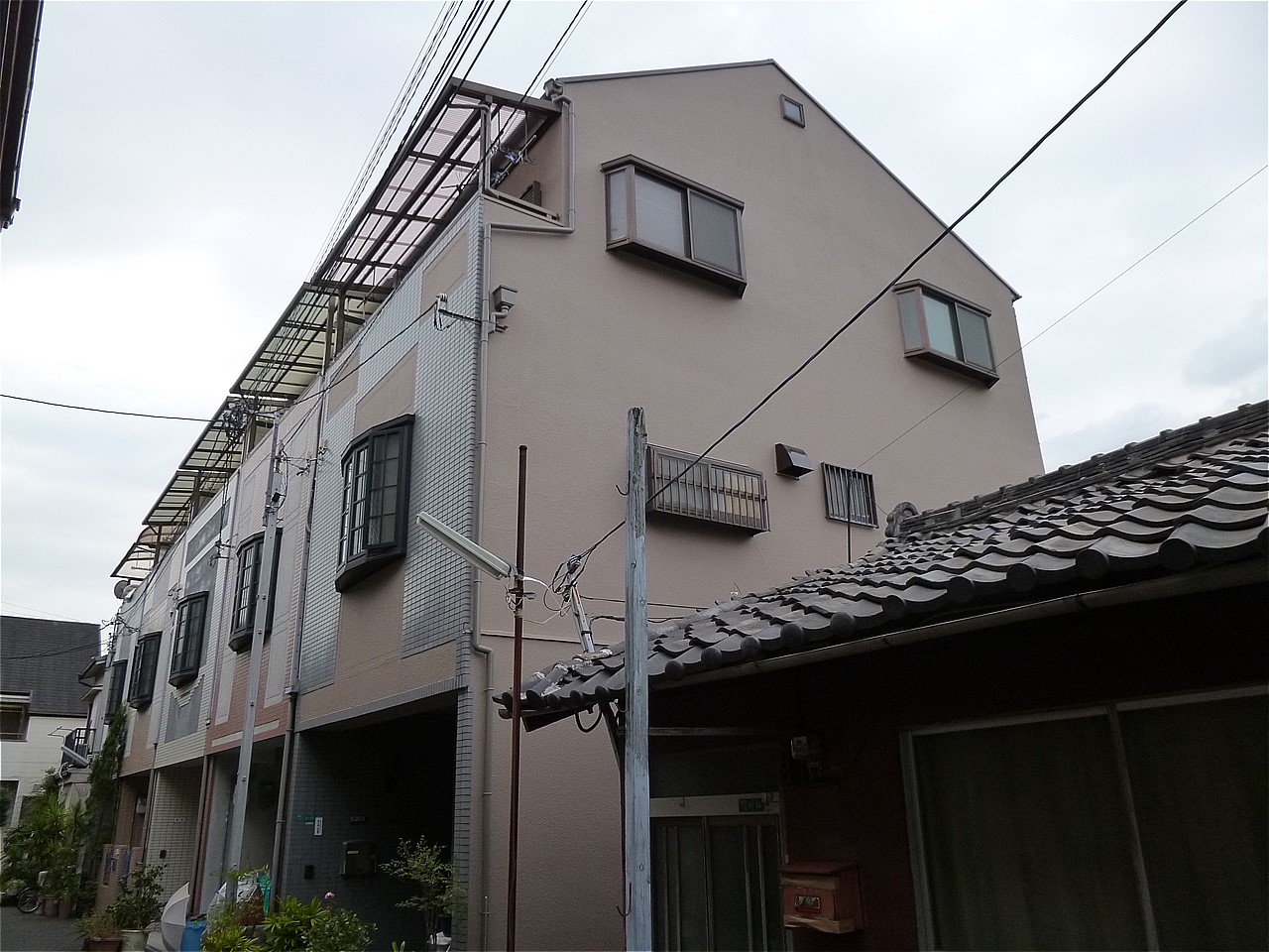 都島区 外壁塗装 施工例(M様邸)