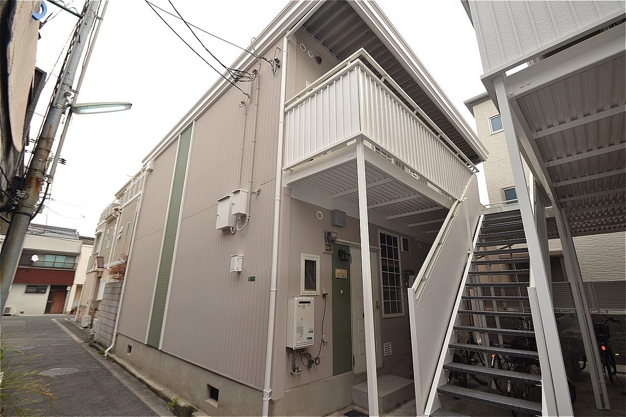 都島区 外壁塗装 施工例(ハイツY)
