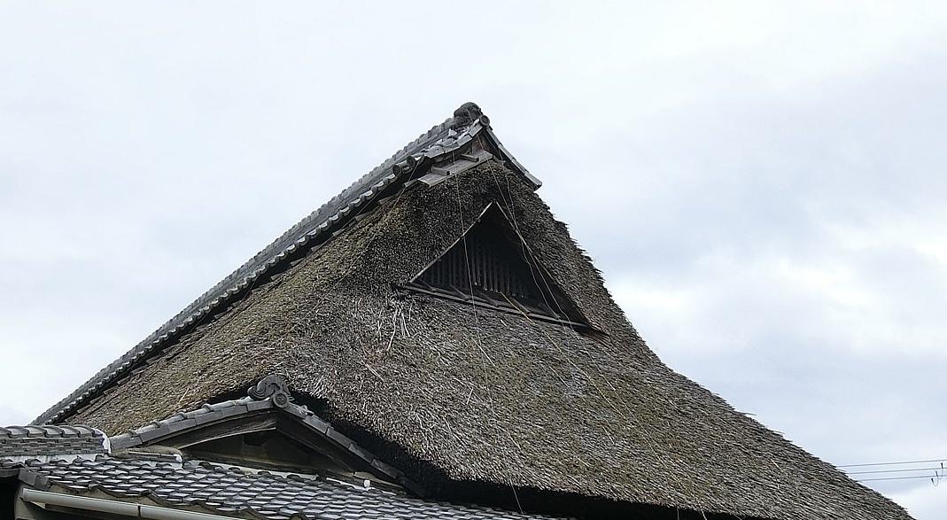 茅葺きの家