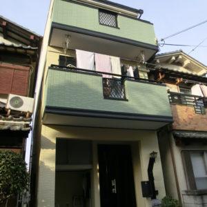 藤井寺市 外壁塗装 施工例(H様邸)