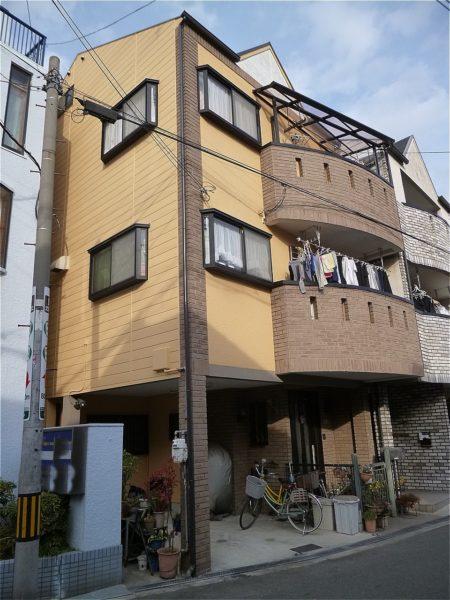 旭区 外壁塗装 施工例(M様邸)