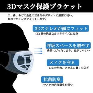 マスク用のプラケット
