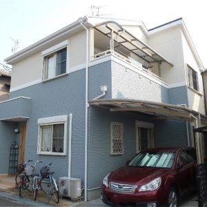 茨木市 外壁塗装 施工例(H様邸)