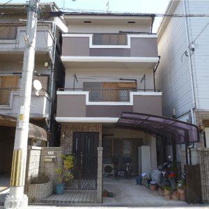 茨木市 外壁塗装 施工例(S様邸)