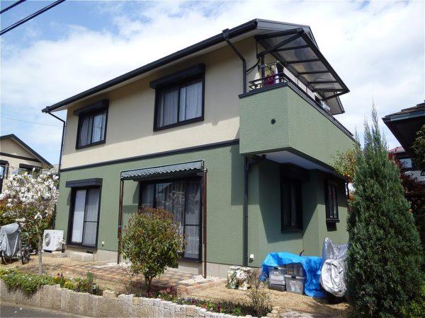 阪南市 外壁塗装 施工例(W様邸)