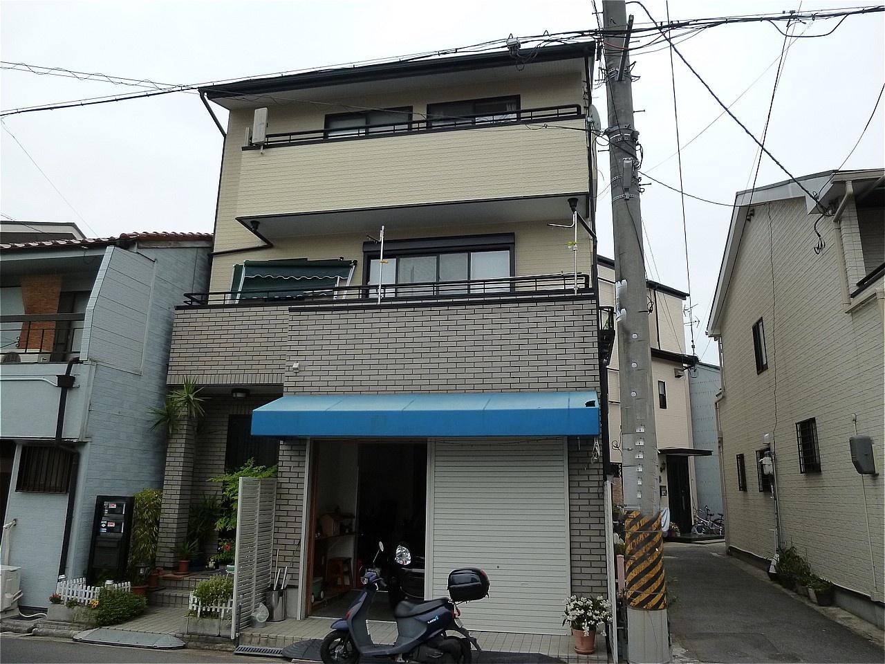 堺市北区 外壁塗装 施工例(K様邸)