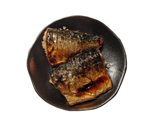 塩鯖 と コショウ 😊