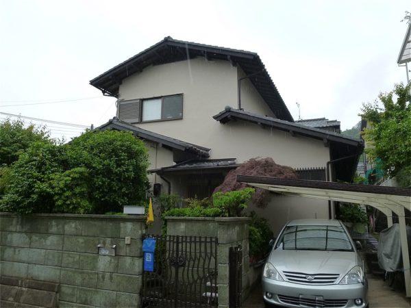 生駒市 外壁塗装 施工例(H様邸)