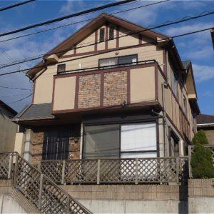 須磨区 外壁塗装 施工例(H様邸)