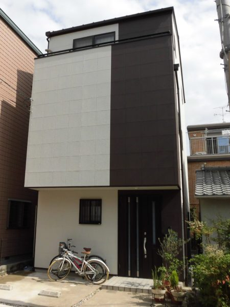 西宮市 外壁塗装 施工例(K様邸)