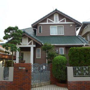 神戸市 外壁塗装 施工例(O様邸)