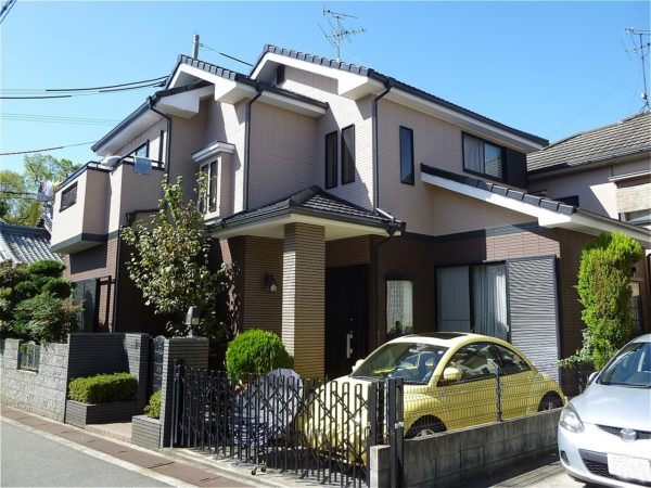 阪南市 外壁塗装 施工例(T様邸)