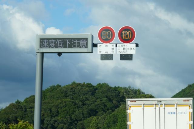 制限速度120Km/h😲