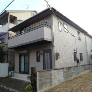 摂津市 外壁塗装 施工例(N様邸)