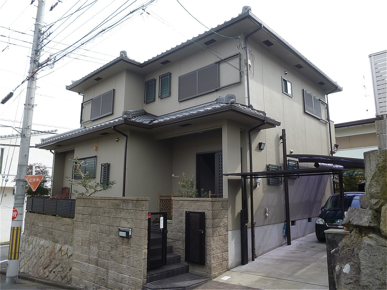 枚方市 外壁塗装 施工例(N様邸)