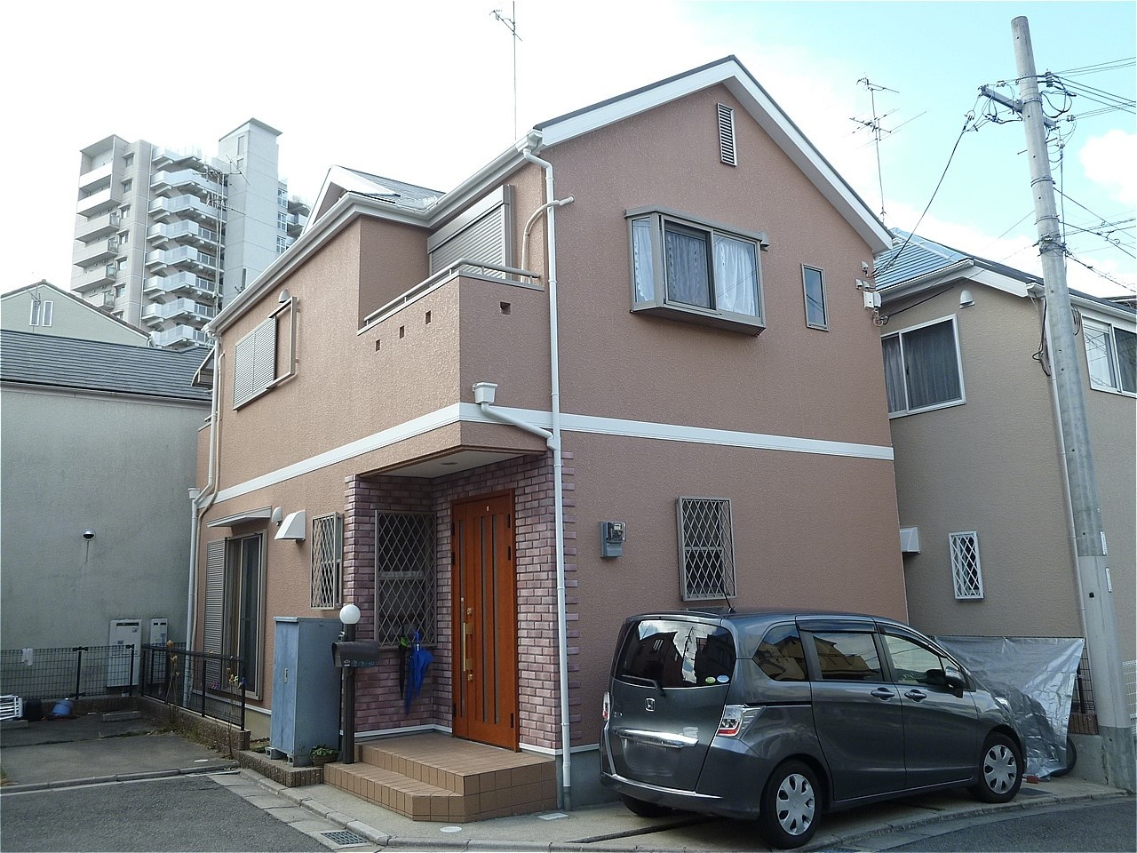 宝塚市 外壁塗装 施工例(U様邸)