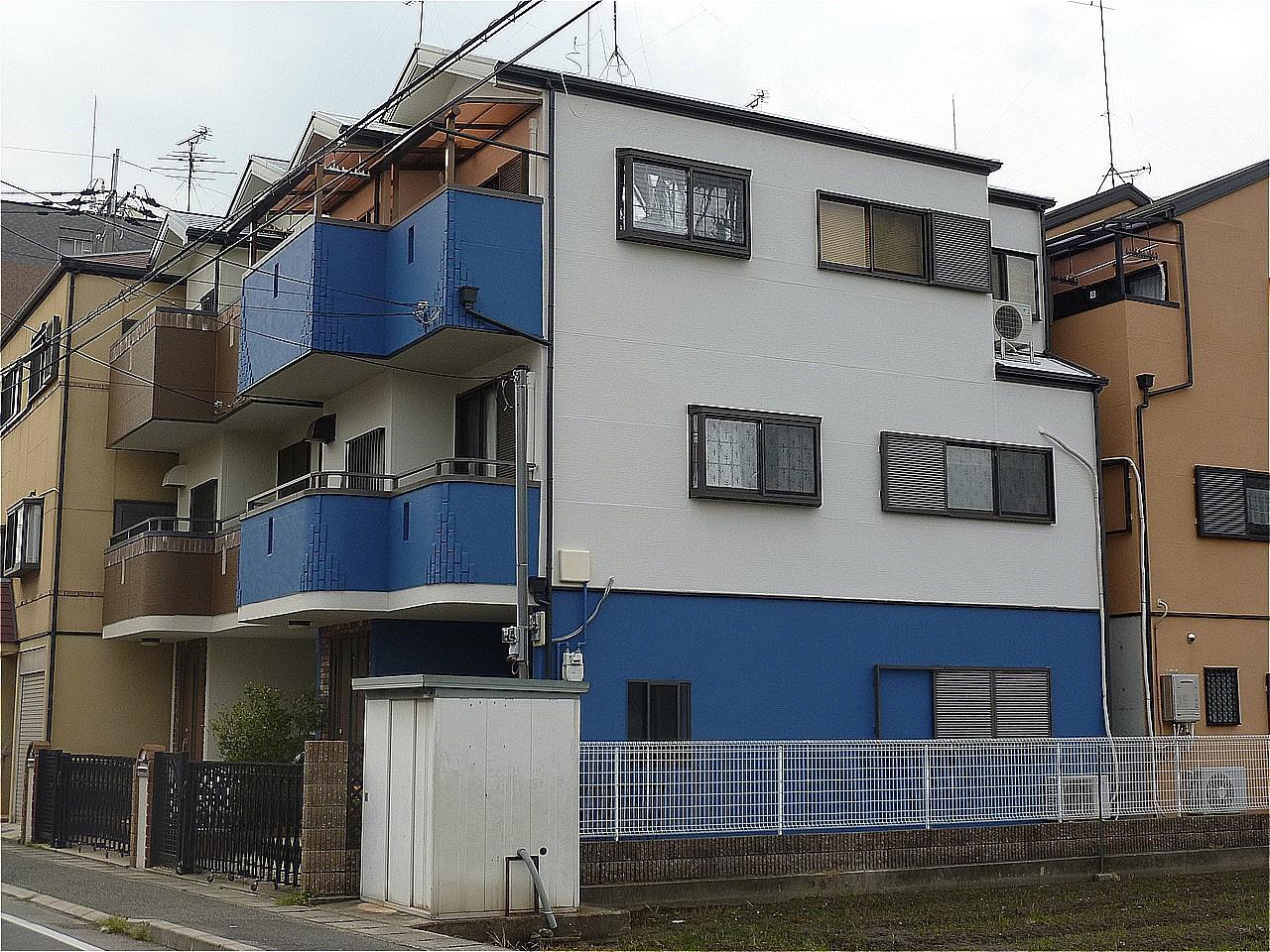 尼崎市 外壁塗装 施工例(U様邸)