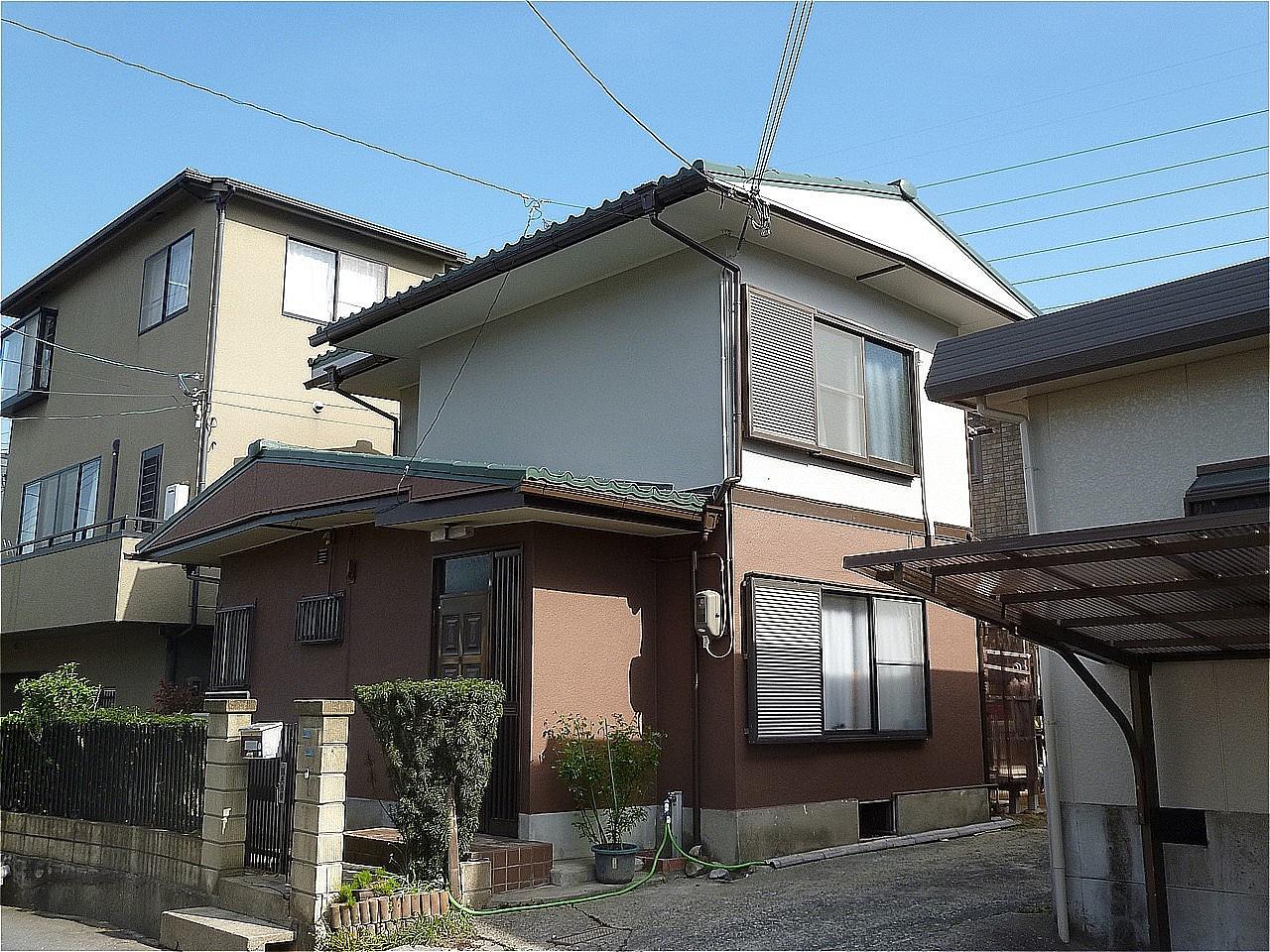 茨木市 外壁塗装 施工例(U様邸)