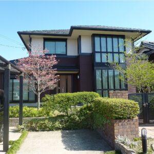 奈良市 外壁塗装 施工例(M様邸)