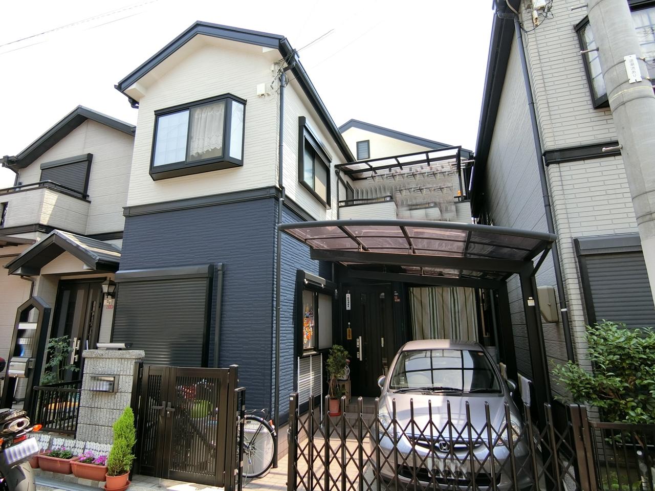 枚方市 外壁塗装 施工例(Y様邸)